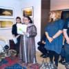 إبنة تاونات زكية الميداوي،السفيرة المغربية بصوفيا والفنان المصور فاسيل توديف:دعوة لتناول الشاي في الصحراء