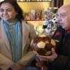 إبنة إقليم تاونات زكية الميداوي سفيرة المملكة المغربية ببلغاريا تزور متحف النادي الرياضي البلغاري لكرة القدم بصوفيا