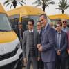 حظيرة النقل المدرسي في إقليم تاونات تتعزز باقتناء 4 حافلات