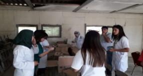 قافلة طبية تقدم خدماتها ل1200 من فقراء جماعة بوشابل بقرية أبا محمد بتاونات