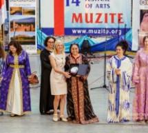 نائبة رئيس بلغاريا تكرم السفيرة المغربية إبنة تاونات زكية الميداوي في المهرجان الدولي للشباب والفنون بصوفيا
