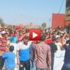 فيديو : مسيرة العطش لساكنة أولاد آزام بتاونات