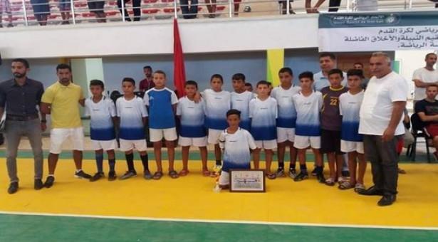 صغار فريق الوفاق الرياضي التاوناتي يشاركون بدوري نجوم في الذاكرة بقرية أبا محمد