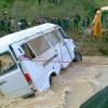 صورة وتعليق: غفساي.. سيارة جرفها أحد روافد واد اولاي وبداخلها تلاميذ