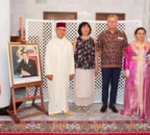 إبنة إقليم تاونات زكية الميداوي سفيرة المملكة المغربية بجمهورية بلغاريا تحتفي بعيد العرش