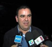 الصحافي إبن إقليم تاونات جواد التويول موفدا لوكالة المغرب العربي للانباء إلى قطاع غزة بفلسطين