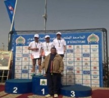 العداء التاوناتي حسام العزوزي يفوز بالميدالية النحاسية في بطولة المغرب للعدو الريفي ويتأهل لبطولة العالم بالدانمارك
