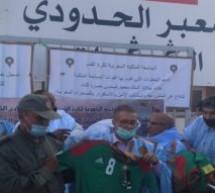 رئيس العصبة الوطنية لكرة القدم هواة التي يرأسها إبن تاونات جمال السنوسي يزور الكركرات