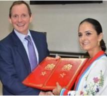 المديرة العامة لمكتب التكوين المهني إبنة تاونات لبنى طريشة توقع على مذكرة تفاهم مع حكومة المملكة المتحدة وبريطانيا وإيرلندا الشمالية
