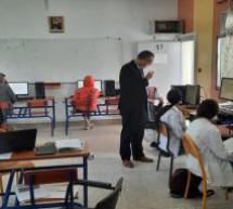 160 تلميذا وتلميذة يجتازون الدراسة التجريبية الدولية لتقويم التلاميذ PISA2021 بتاونات