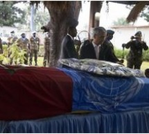 الأمم المتحدة تُكرم جندياً مغربياً ينحدر من اقليم تاونات فقد حياته في إفريقيا الوسطى