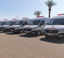 تسليم مفاتيح 4 سيارات إسعاف و 4 سيارات نقل الأموات ل8 جماعات ترابية بإقليم تاونات