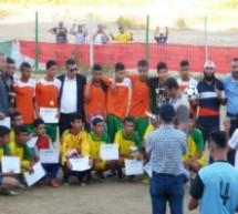 فريق أشبال التجزئة يتوج بدوري عين عائشة لكرة القدم بنواحي تاونات
