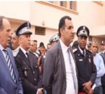 عميد الشرطة (إبن تاونات) العياشي الغازي الذي كسب حب و إحترام ساكنة الداخلة لمهنيته و أخلاقه