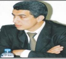 المحامي  والحقوقي  خليل الإدريسي رئيس مؤسسة أولاد آزام يحاضر في ندوة بالرباط
