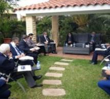 Le Président du Conseil de la Région Fès –Meknès tient une réunion avec le « Forum des Compétences  de Taounate » sur le projet de la voie express