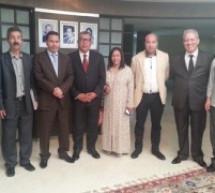 وزيرالاتصال يستقبل أعضاء المكتب التنفيذي للفيدرالية المغربية للإعلام