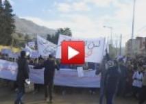 مسيرة الغضب بغفساي ضد الإهمال و التهميش